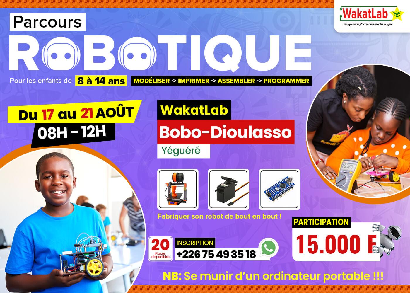 Bobo: Initiation à la robotique pour les enfants de 8 à 14 ans