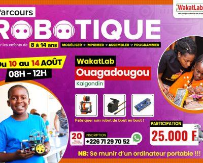 Initiation à la robotique pour les enfants de 8 à 14 ans