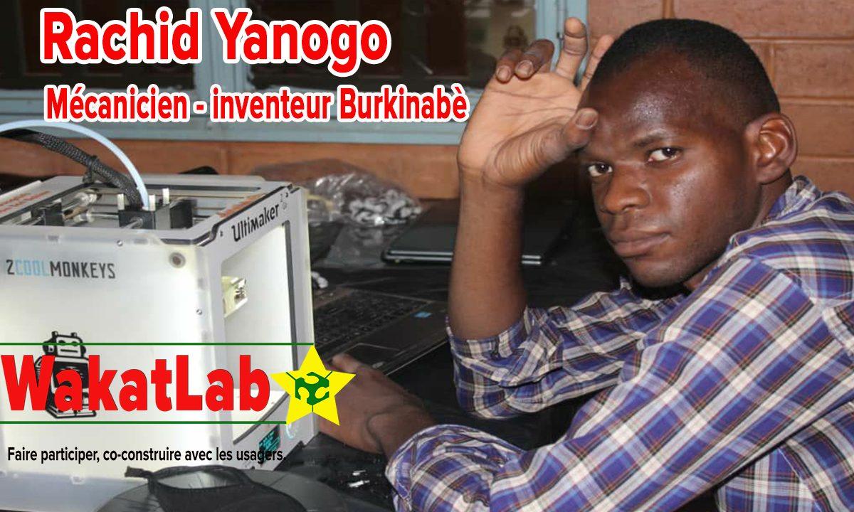 Incubé du WakatLab, il désir révolutionner la mécanique automobile au Burkina Faso